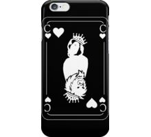 King 'Chris In The Den' Black iPhone Case/Skin