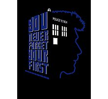 You Never Forget Your First - Doctor Who 8.5 John Hurt Photographic Print