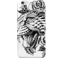 Ornate Leopard iPhone Case/Skin