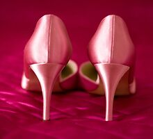 My fabulous pink wedding shoes by Zoe Power