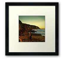 Ibiza Sunset Framed Print