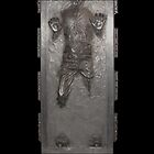 Han Solo in carbonite duvet cover by jaketheviking0