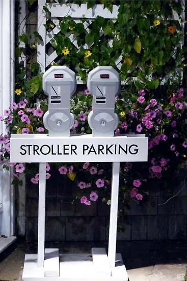 Stroller Parking by phil decocco