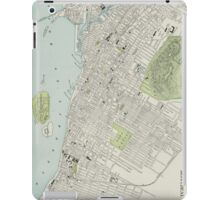 Vintage Map of Montreal (1901) iPad Case/Skin