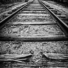 Old Train Tracks by Edward Fielding