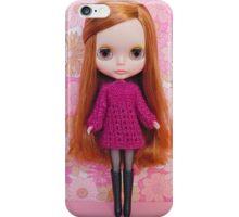 Plummy glitter iPhone Case/Skin