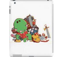Cool and Nerd Dinosaur  iPad Case/Skin