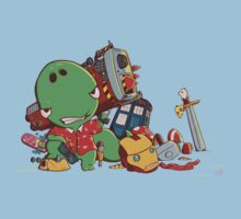 Cool and Nerd Dinosaur  Kids Clothes