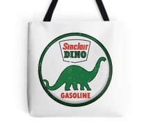 Sinclair Dino Gasoline vintage sign distressed Tote Bag