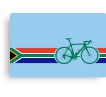 Bike Stripes South Africa Canvas Print