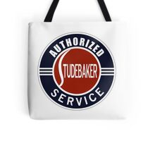 Authorized Studebaker Service vintage sign Tote Bag