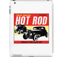 Hot Rod - Classic American Sports Car iPad Case/Skin