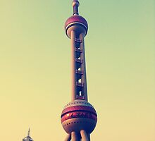 Pearl Tower Shanghai by karlmagee