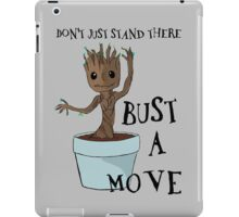 Bust a Move Baby Groot iPad Case/Skin