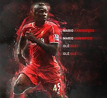 Mario Balotelli  by dhardayal