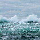 Crashing wave by TJLewisPhoto