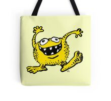 Cute Cartoon Yellow Monster by Cheerful Madness!! Tote Bag