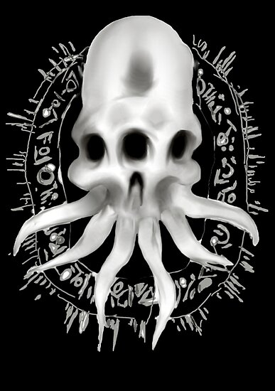 Alien Skull by mattimac