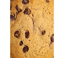 CHOCOLATE CHIP COOKIE (Textures) Photographic Print