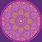 Pink Mandala by redqueenself