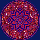 Red Mandala by redqueenself