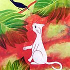 White Cat Black Bird by Susan Greenwood Lindsay