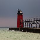 South Haven Lighthouse by Carrie Bonham