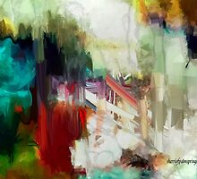 Abstract Staircase by Sherri     Nicholas