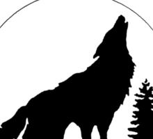 Beacon Hills Wolf Lacrosse Sticker