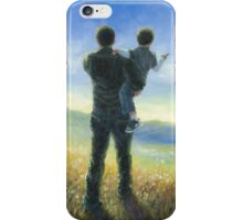 DAD AND ME FATHER AND SON iPhone Case/Skin