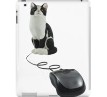 The Cat Who Got The Mouse iPad Case/Skin