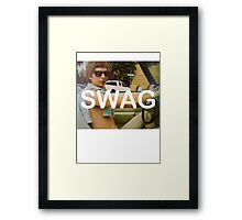 Michael Cera Swag Framed Print