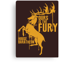 House Baratheon Shirt Game of Thrones Canvas Print