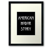 American Hodor Story Framed Print