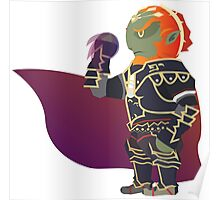 Chibi Ganondorf Vector Poster