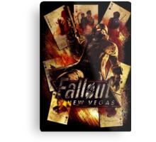 Fallout New Vegas Metal Print
