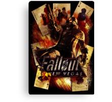 Fallout New Vegas Canvas Print
