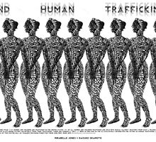 End Human Trafficking Poster by Mirabelle Jones