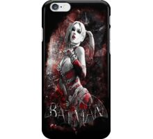Batman Arkham City Harleyquinn iPhone Case/Skin