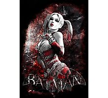 Batman Arkham City Harleyquinn Photographic Print