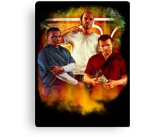 GTA 5 Canvas Print