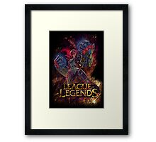 LoL Vi Framed Print