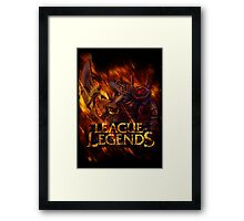 LoL Renekton Framed Print