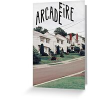 Arcade Fire Greeting Card
