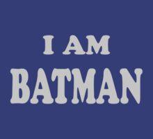 I Am Batman - Cooper by generalroshambo