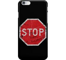 Stop the War on Women iPhone Case/Skin
