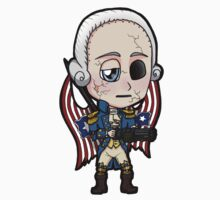 Bioshock Infinite George Washington Columbia Motorized Patriot Chibi by Zphal