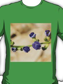 Purple Bloom - African Wild Flowers T-Shirt