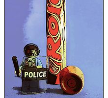 Guarding my last rolo for you.... by Tim Constable