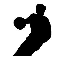Basketball Player Silhouette by kwg2200